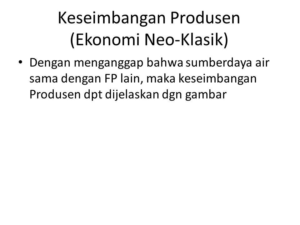 Keseimbangan Produsen (Ekonomi Neo-Klasik)