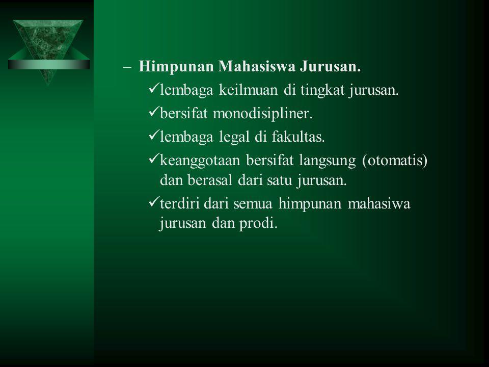 Himpunan Mahasiswa Jurusan.