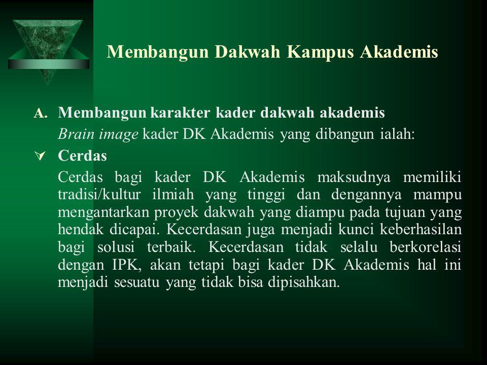 Membangun Dakwah Kampus Akademis