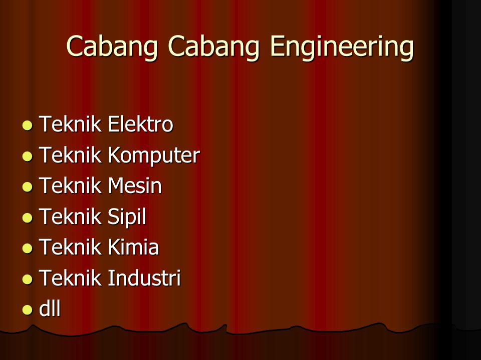 Cabang Cabang Engineering