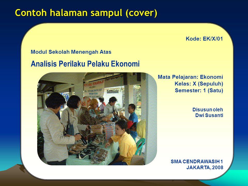 Contoh halaman sampul (cover)