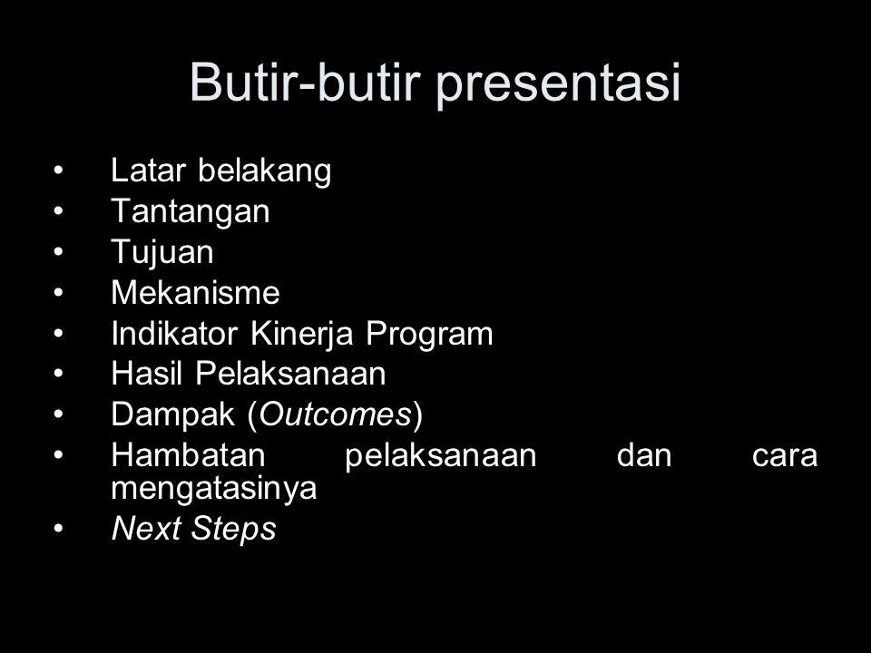 Butir-butir presentasi