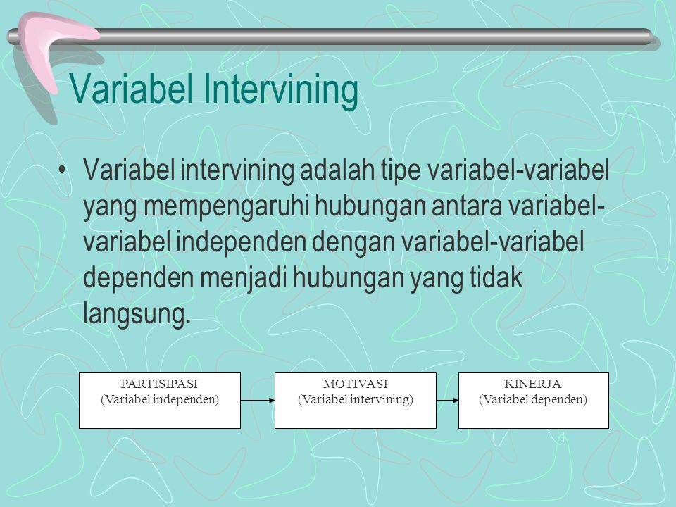 Variabel Intervining