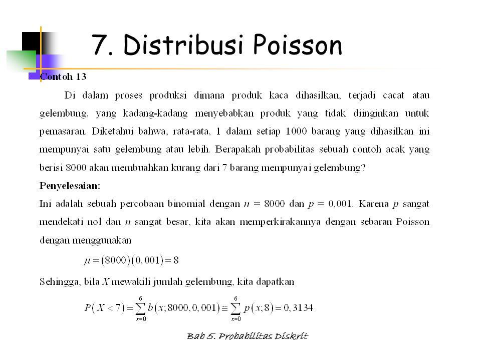Bab 5. Probabilitas Diskrit