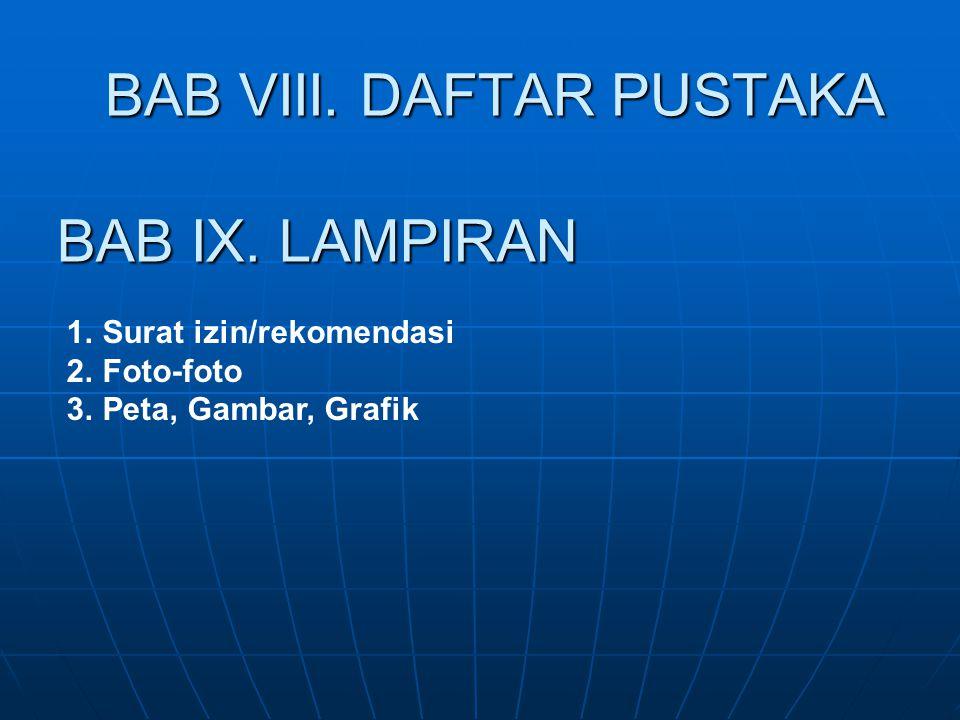 BAB VIII. DAFTAR PUSTAKA