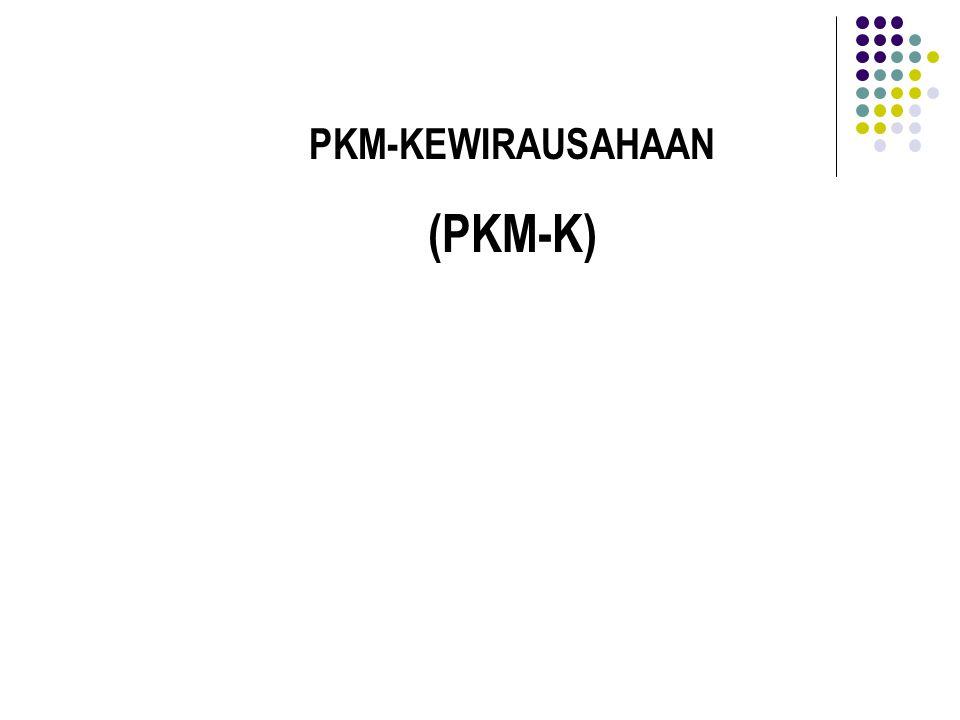 PKM-KEWIRAUSAHAAN (PKM-K)