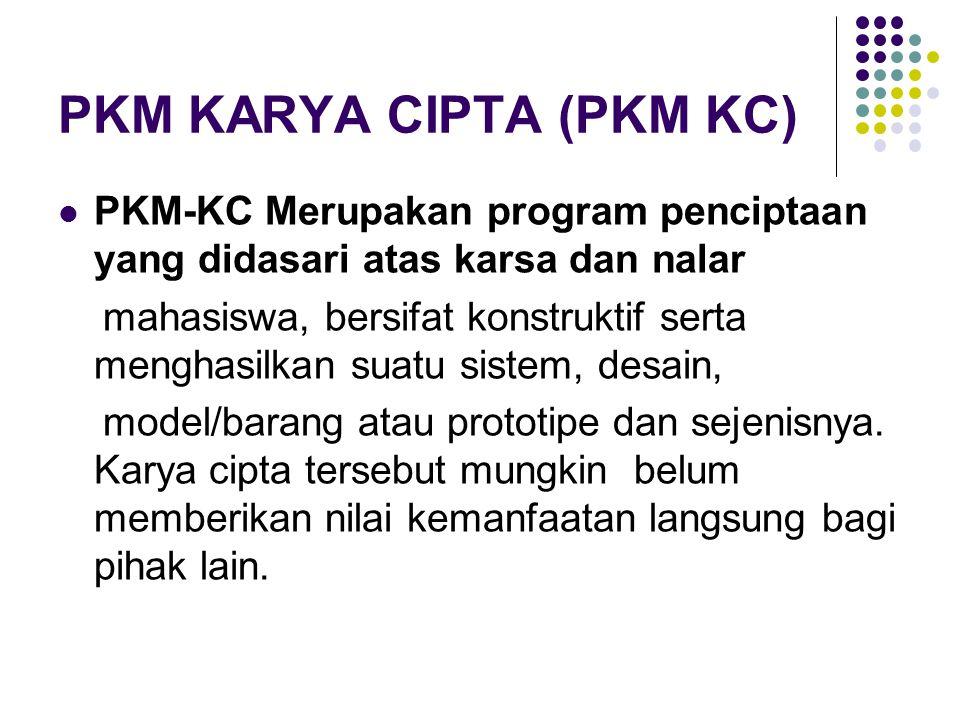 PKM KARYA CIPTA (PKM KC)