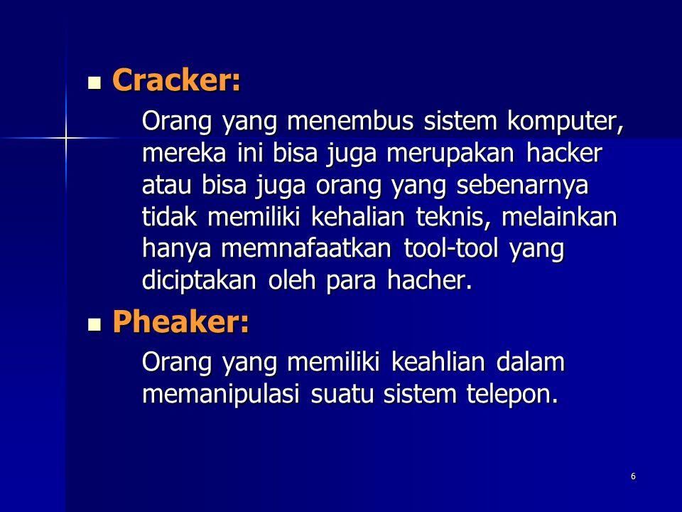 Cracker: