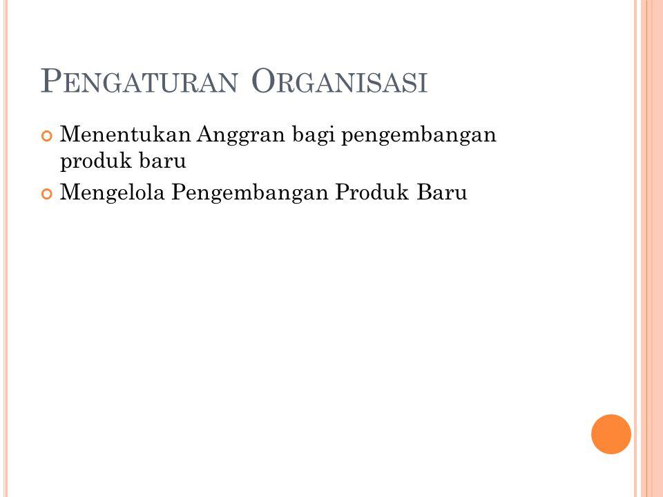Pengaturan Organisasi