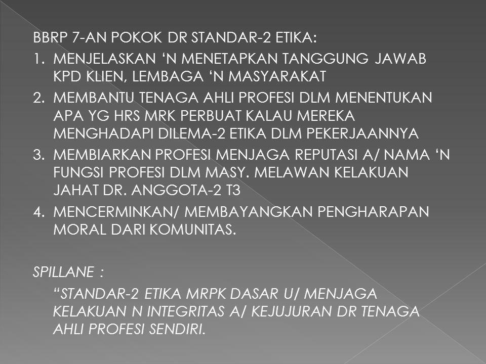 BBRP 7-AN POKOK DR STANDAR-2 ETIKA: 1