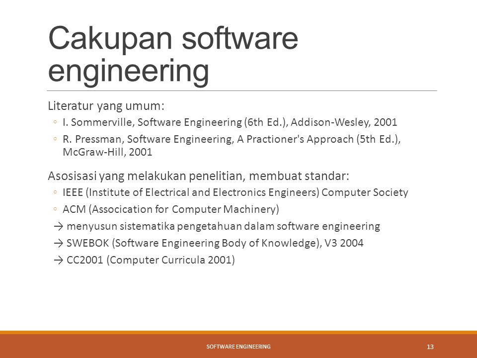 Cakupan software engineering