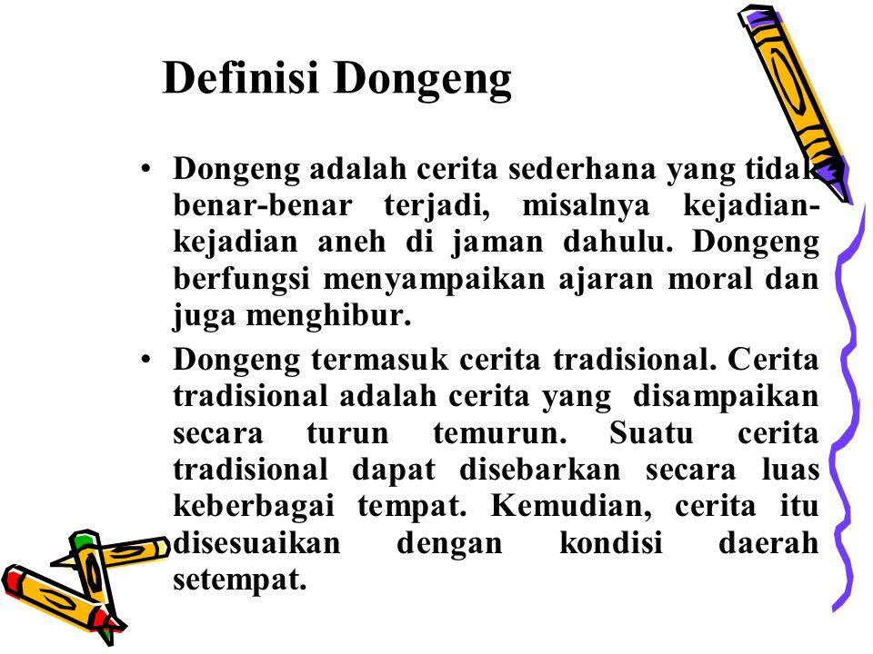 Definisi Dongeng