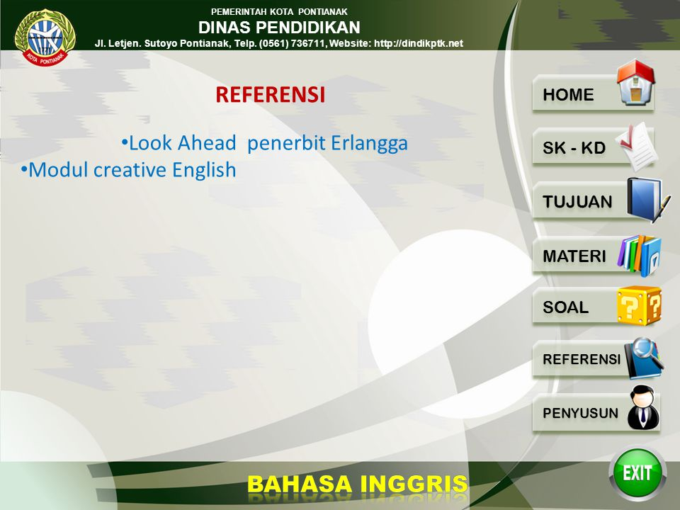 Look Ahead penerbit Erlangga