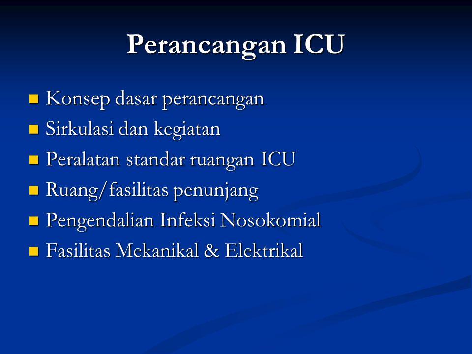 Perancangan ICU Konsep dasar perancangan Sirkulasi dan kegiatan