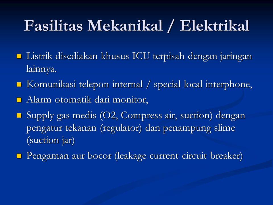 Fasilitas Mekanikal / Elektrikal