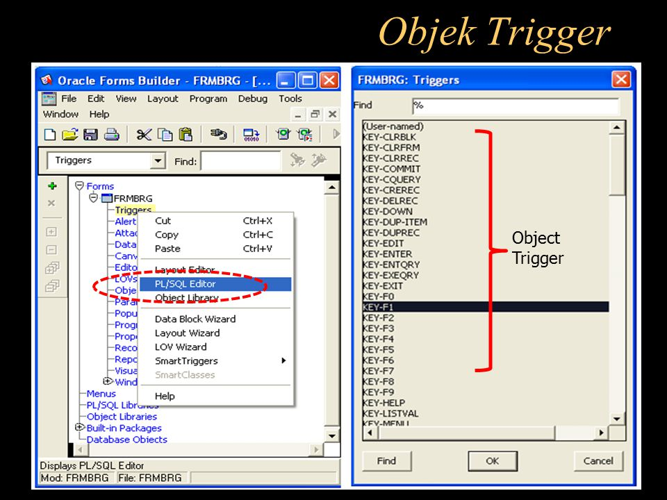 Objek Trigger Object Trigger