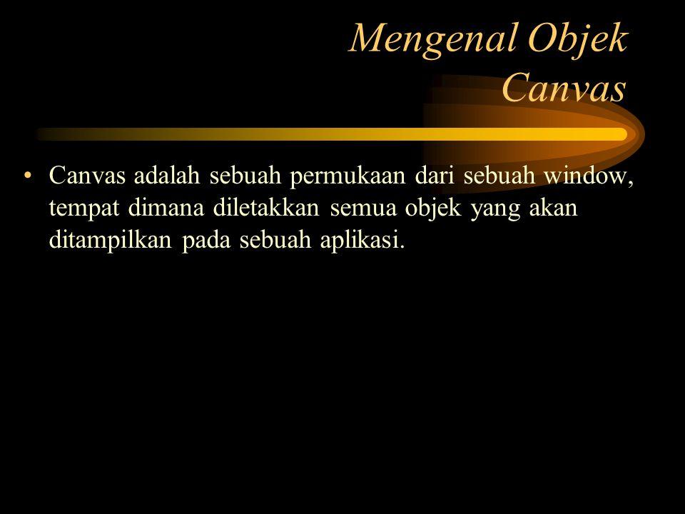 Mengenal Objek Canvas