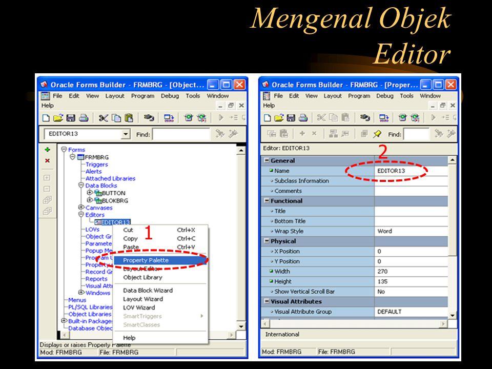 Mengenal Objek Editor 2 1