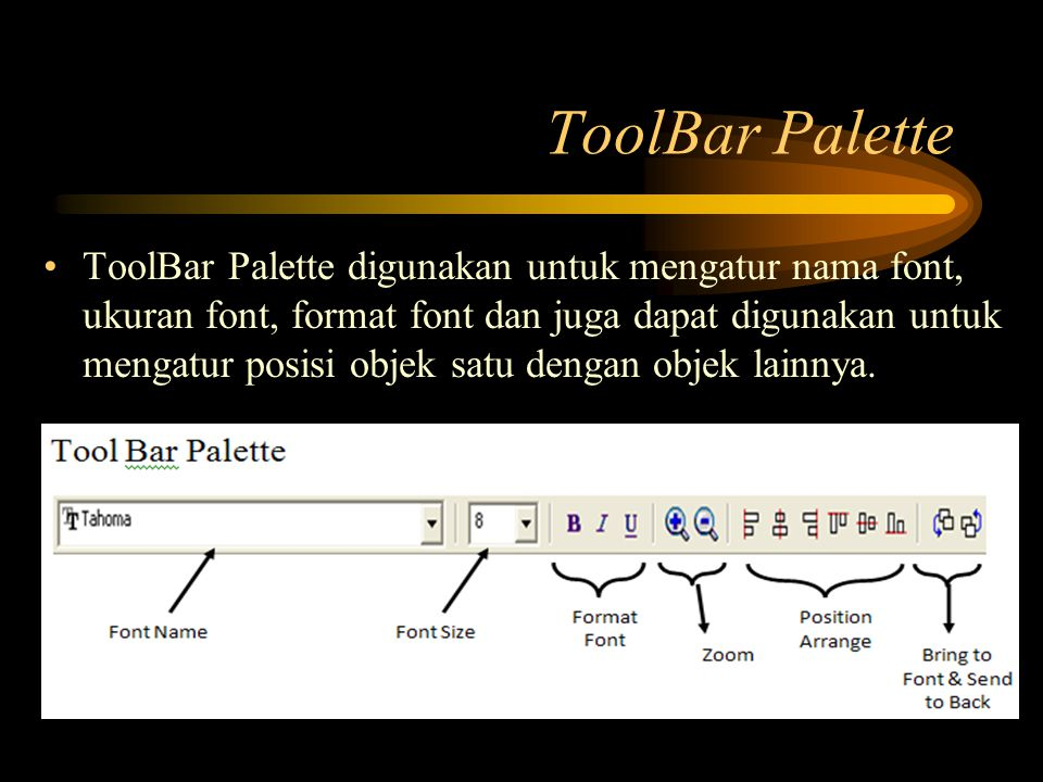 ToolBar Palette