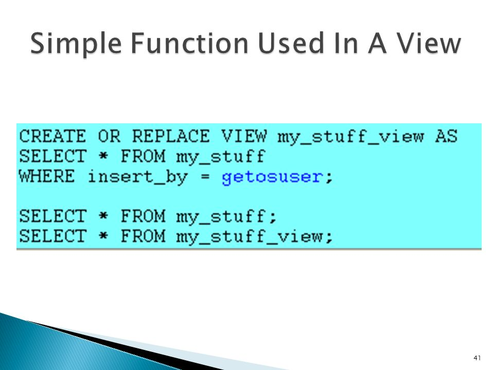 Simple Function Used In A View