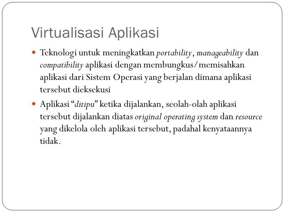 Virtualisasi Aplikasi
