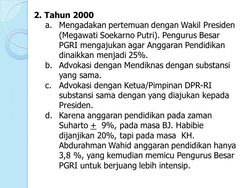 2. Tahun 2000