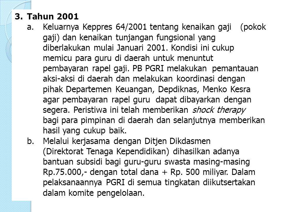3. Tahun 2001