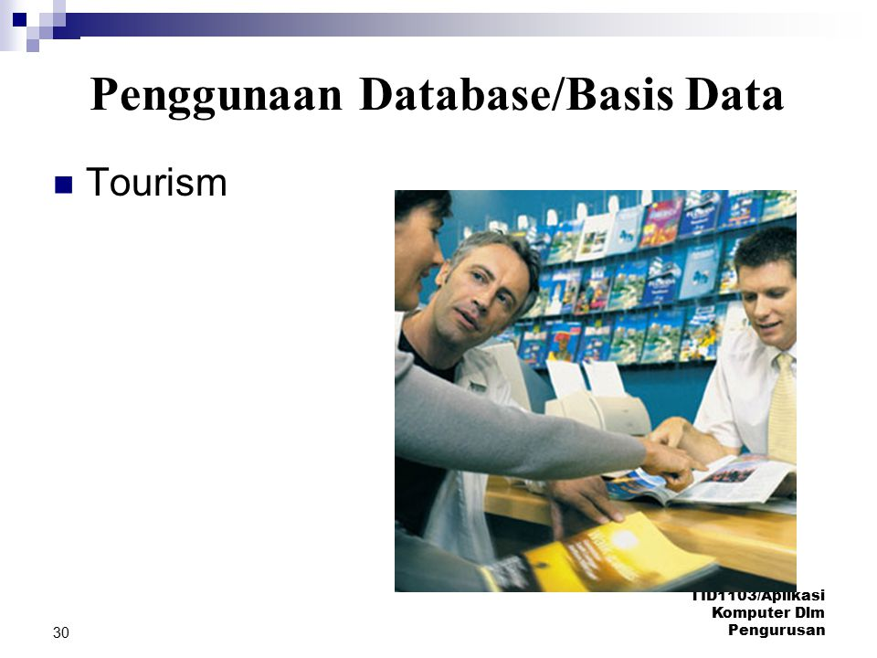 Penggunaan Database/Basis Data