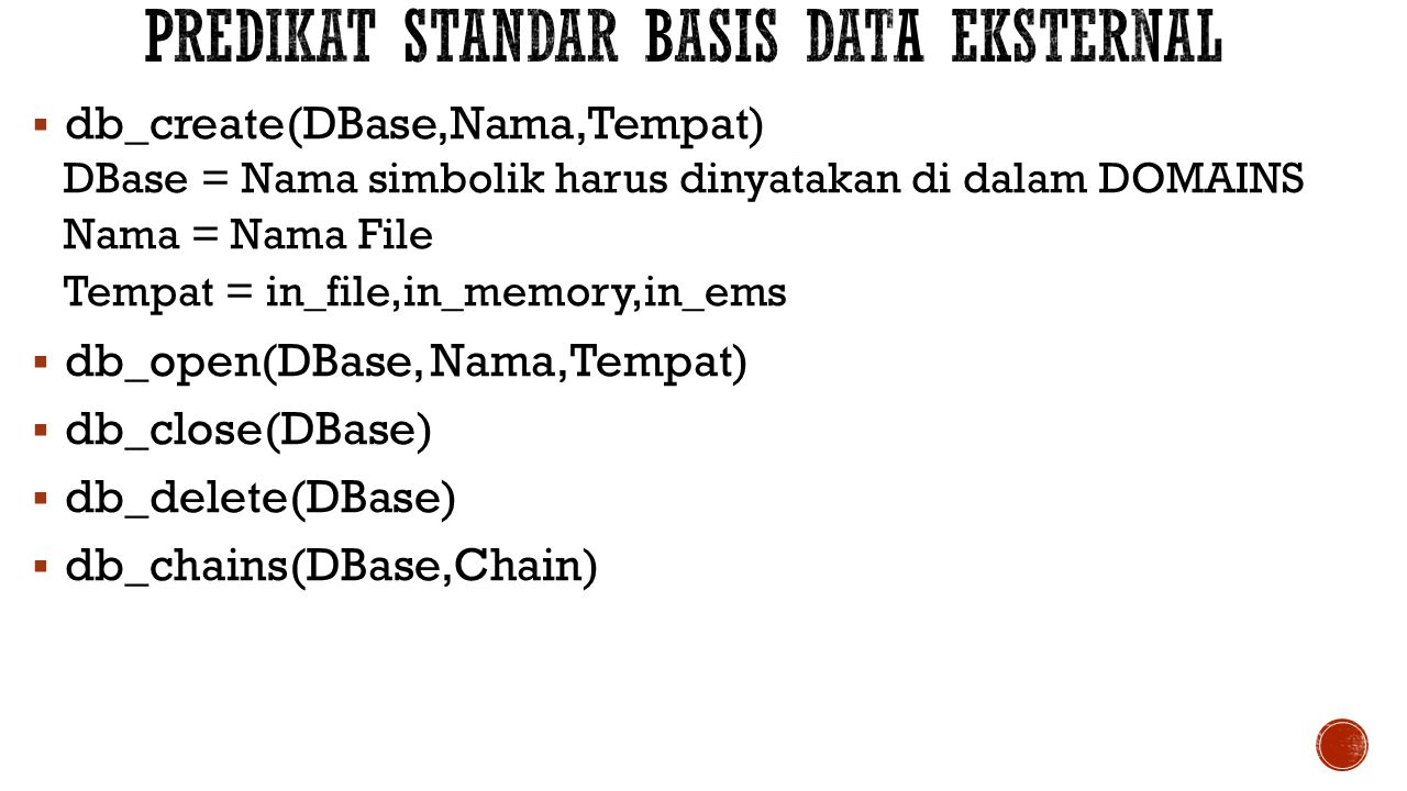 Predikat standar basis data eksternal