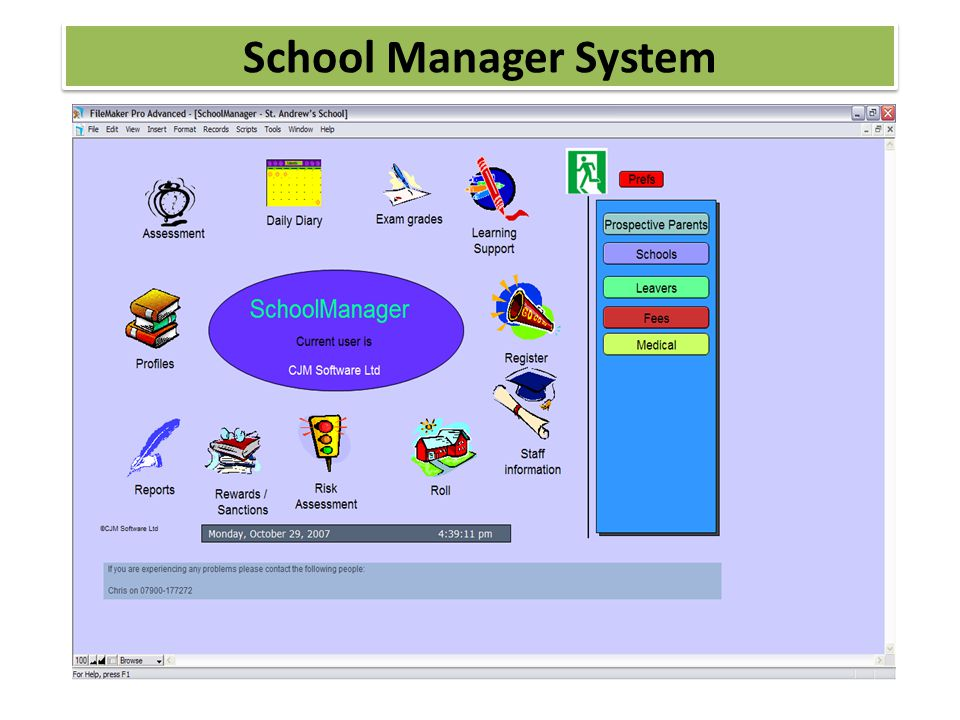 School Manager System