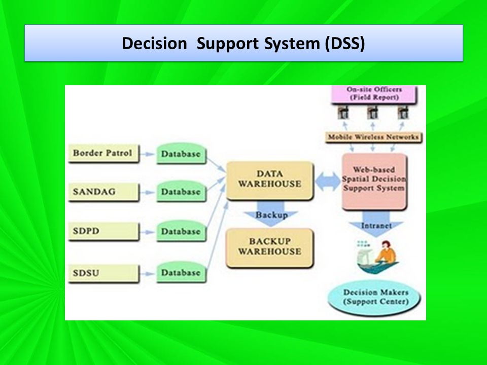 Decision Support System (DSS)