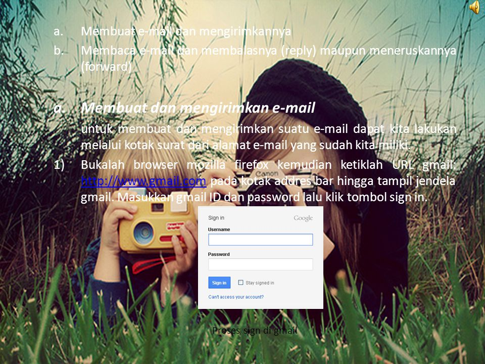 Membuat dan mengirimkan e-mail