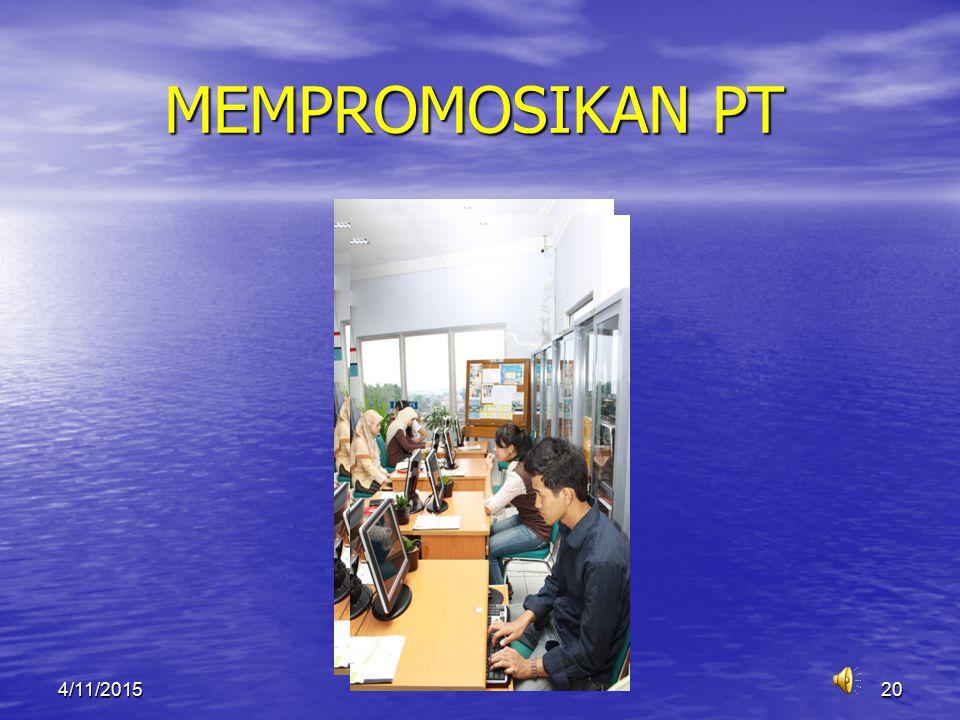 MEMPROMOSIKAN PT 4/10/2017
