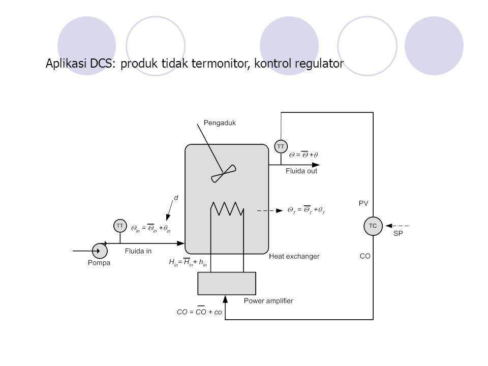 Aplikasi DCS: produk tidak termonitor, kontrol regulator