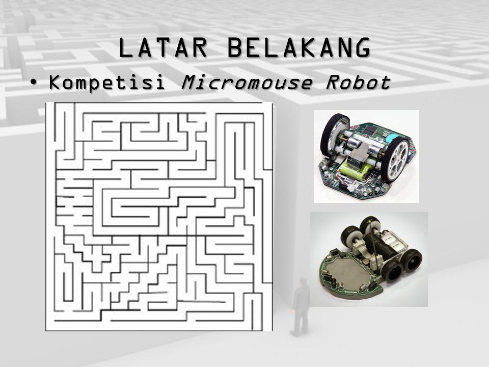 LATAR BELAKANG Kompetisi Micromouse Robot