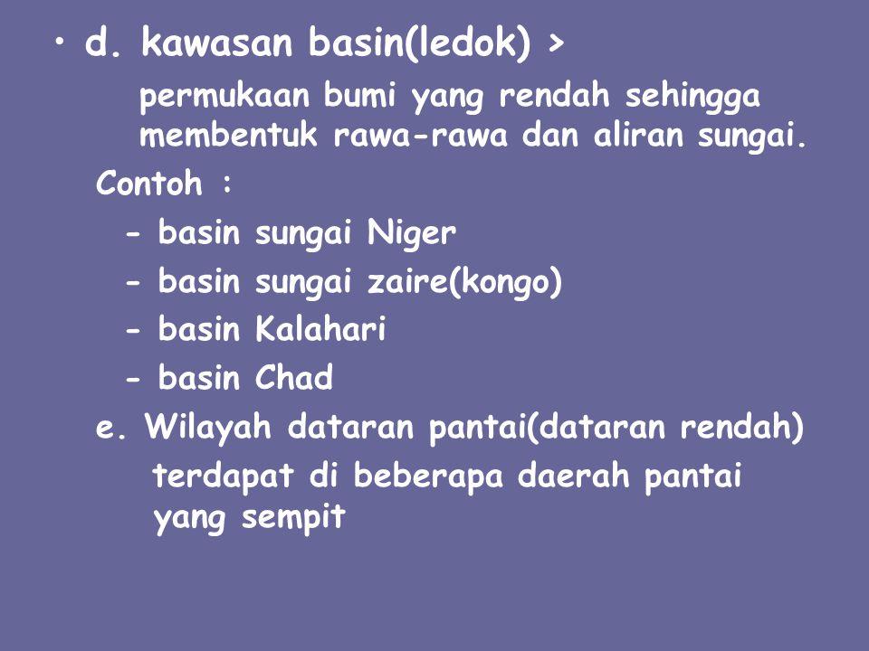 d. kawasan basin(ledok) >