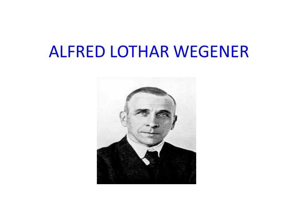 ALFRED LOTHAR WEGENER