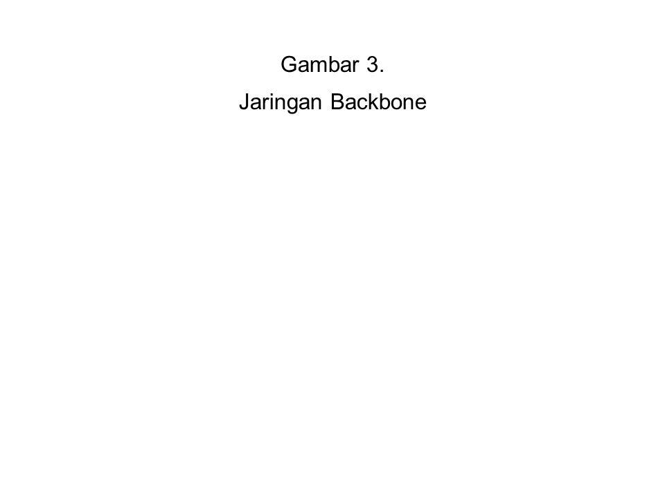 Gambar 3. Jaringan Backbone