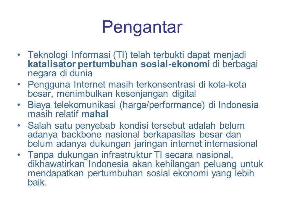 Pengantar Teknologi Informasi (TI) telah terbukti dapat menjadi katalisator pertumbuhan sosial-ekonomi di berbagai negara di dunia.