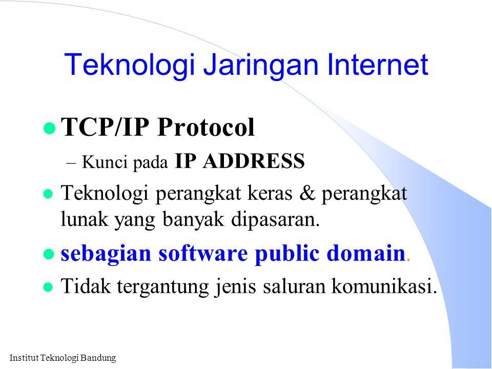 Teknologi Jaringan Internet