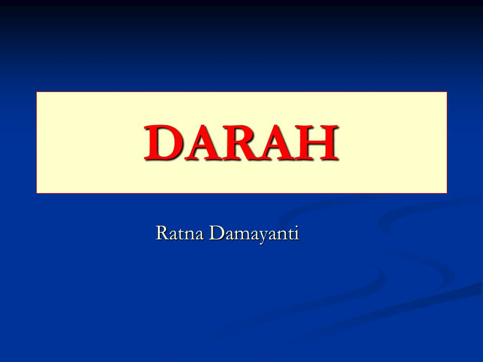 DARAH Ratna Damayanti