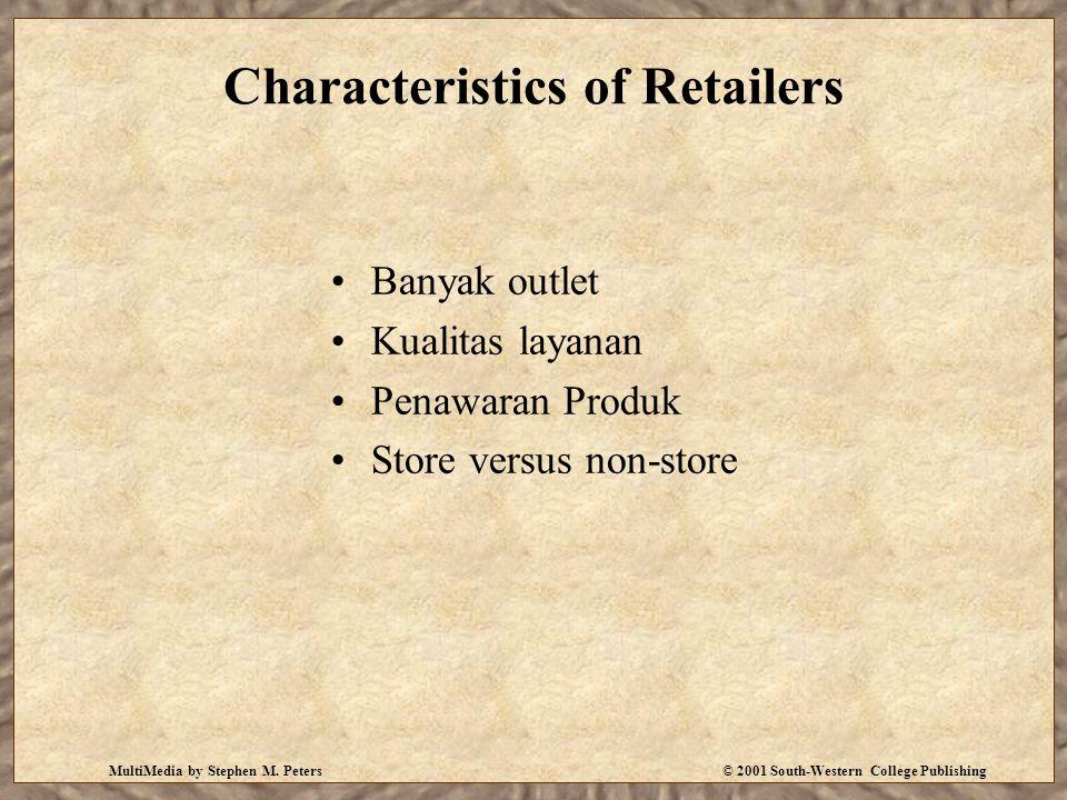 Characteristics of Retailers