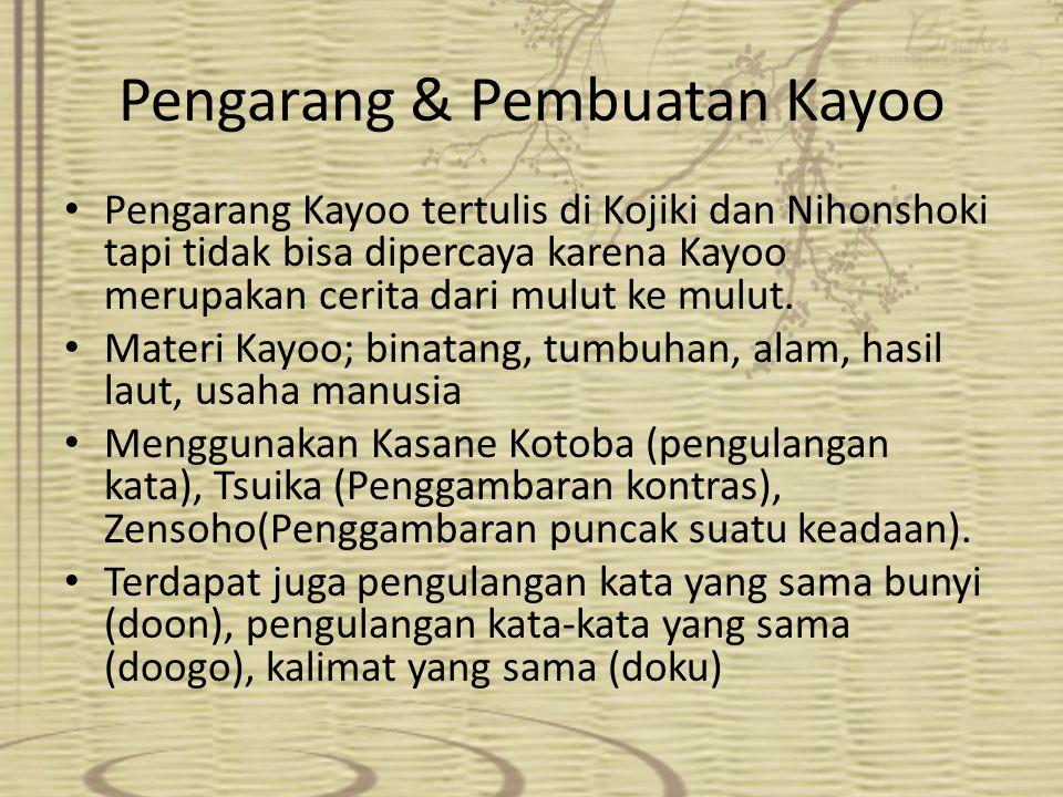 Pengarang & Pembuatan Kayoo