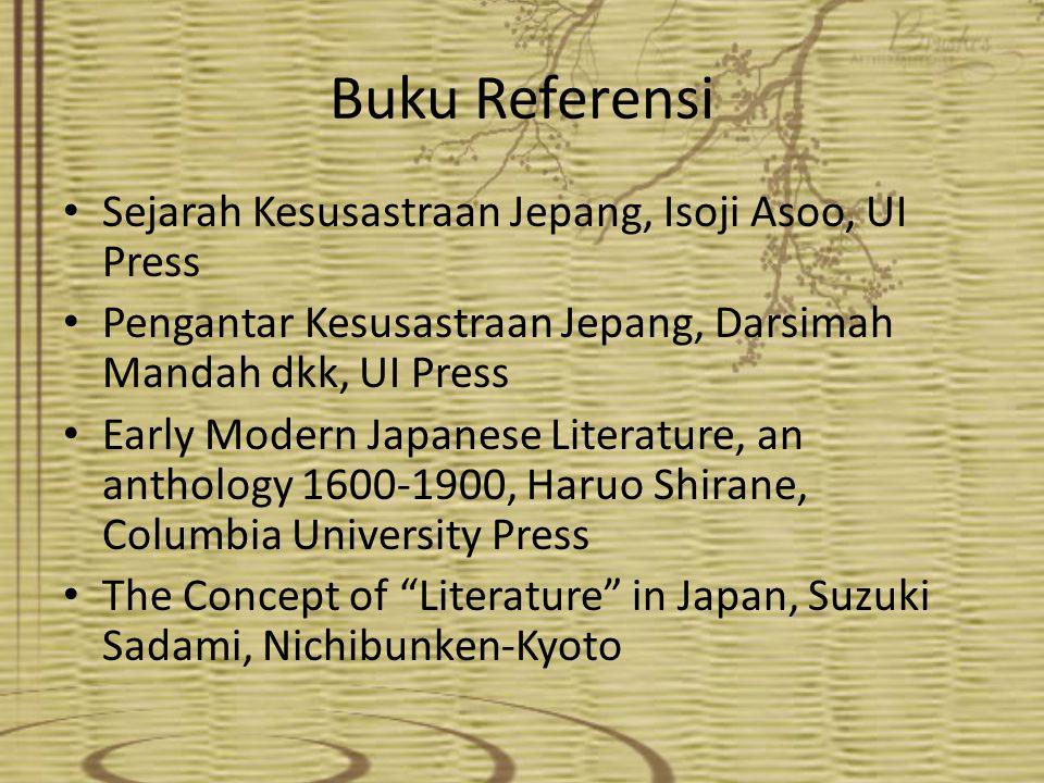 Buku Referensi Sejarah Kesusastraan Jepang, Isoji Asoo, UI Press