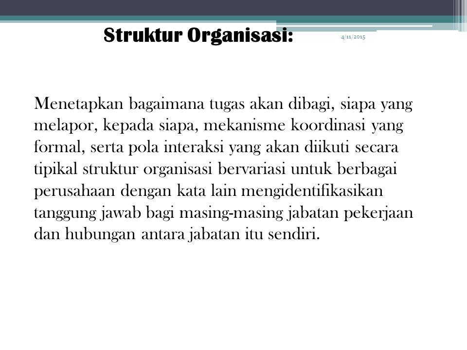 4/10/2017 Struktur Organisasi: 4/10/2017.