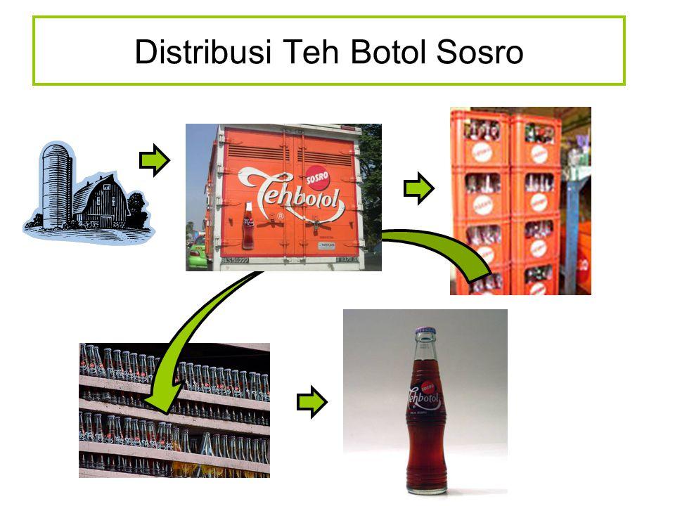 Distribusi Teh Botol Sosro