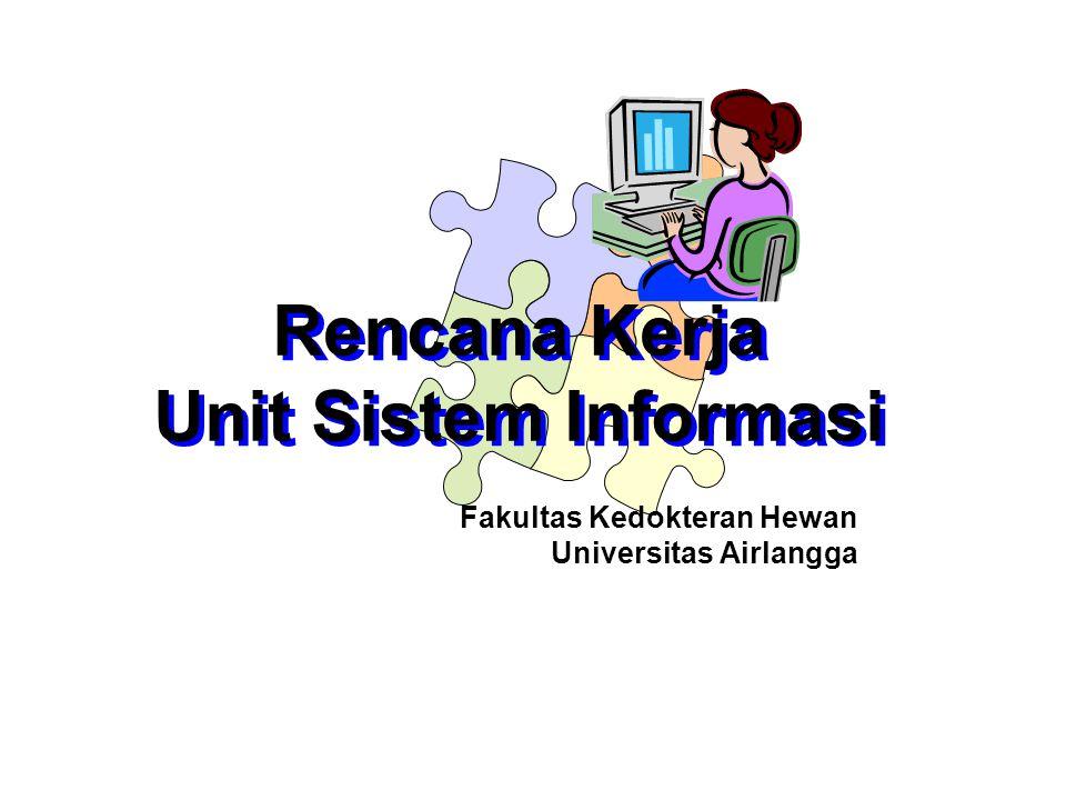 Rencana Kerja Unit Sistem Informasi