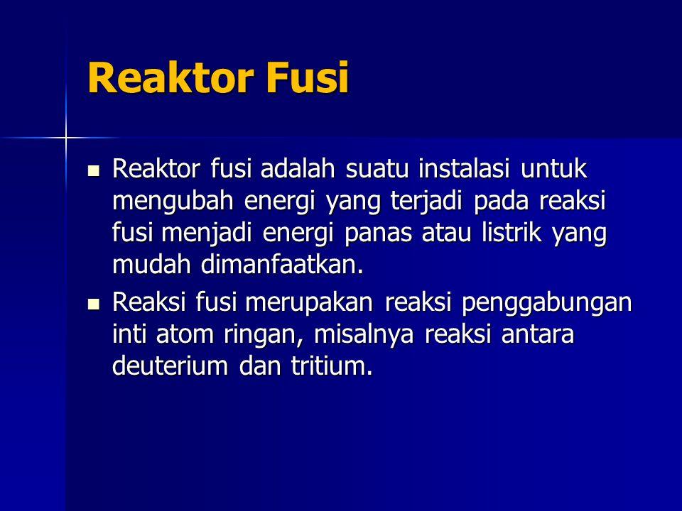 Reaktor Fusi