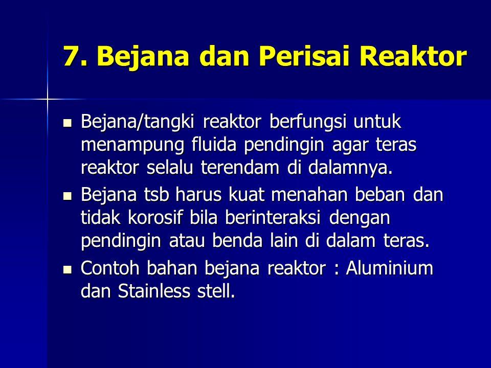 7. Bejana dan Perisai Reaktor