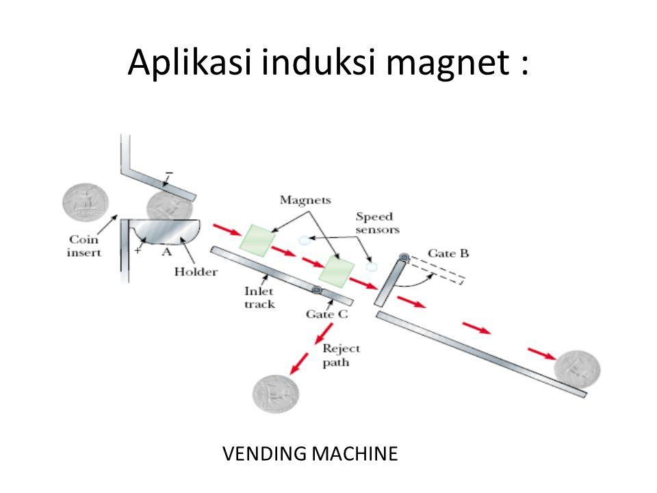 Aplikasi induksi magnet :